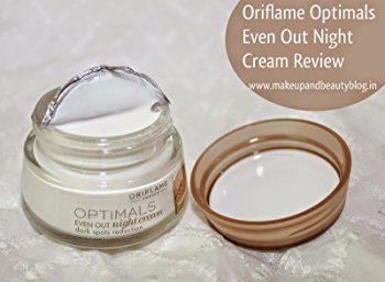 Oriflame Optimals Even Out Replenishing Night Cream 50 Gm