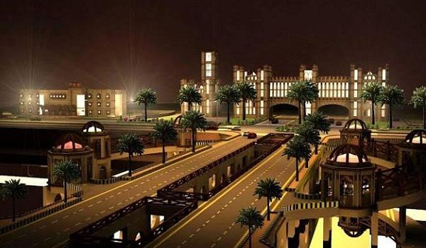 Master City Gate