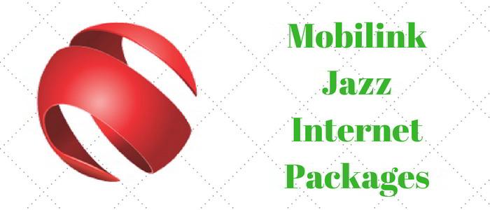 Mobilink Jazz 3G/4G Internet Packages