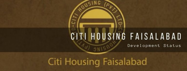 Development status of Citi Housing society fsd