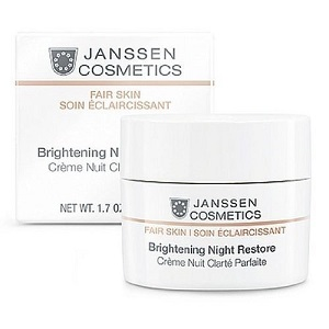 Janssen Cosmetics White Secrets Brightening Night Restore Cream