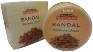 Saeed Ghani Sandal Whitening Cream