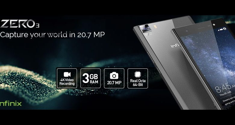 Infinix Zero 3 Smart Phone Image