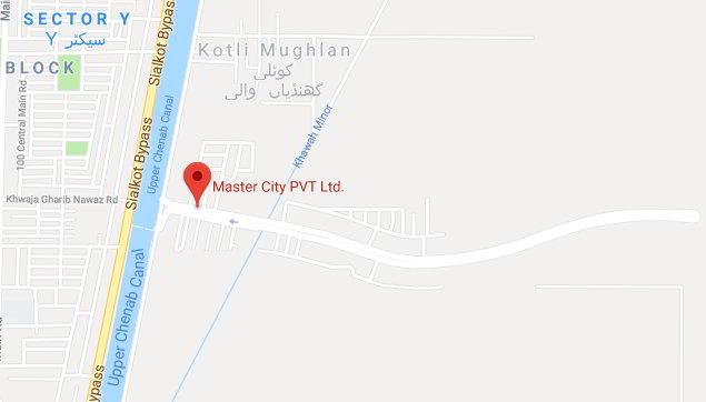 Master city map