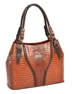 Nee Brown Designer Fashion Handbag