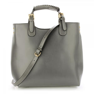 Grey Ladies Handbag A1 Fashion