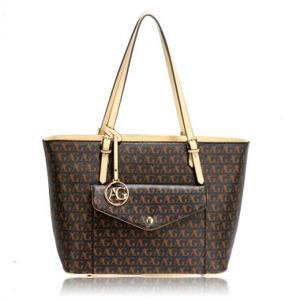 Women's Front Pocket Large Tote Handbag