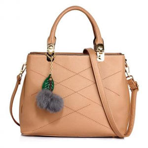 Nude SilkAvenue Handbag