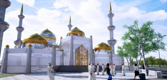 Fateh Muhammad Grand Mosque alam