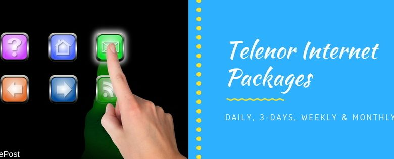 Telenor Internet Packages 2G, 3G, 4G - Daily, Weekly ...