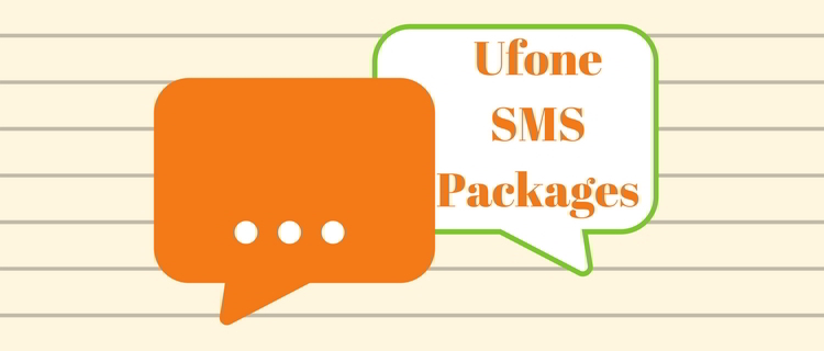 Latest ufone text messaging packages