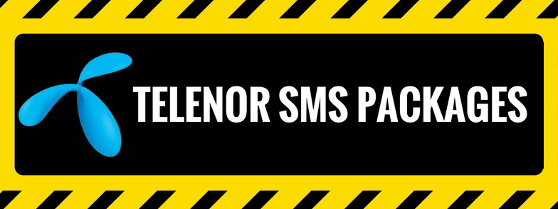 Telenor SMS Packages: Daily, 3/5 Days, Weekly and Monthly 2019