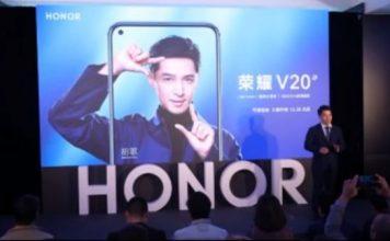 Honor V20 Photos Leaked
