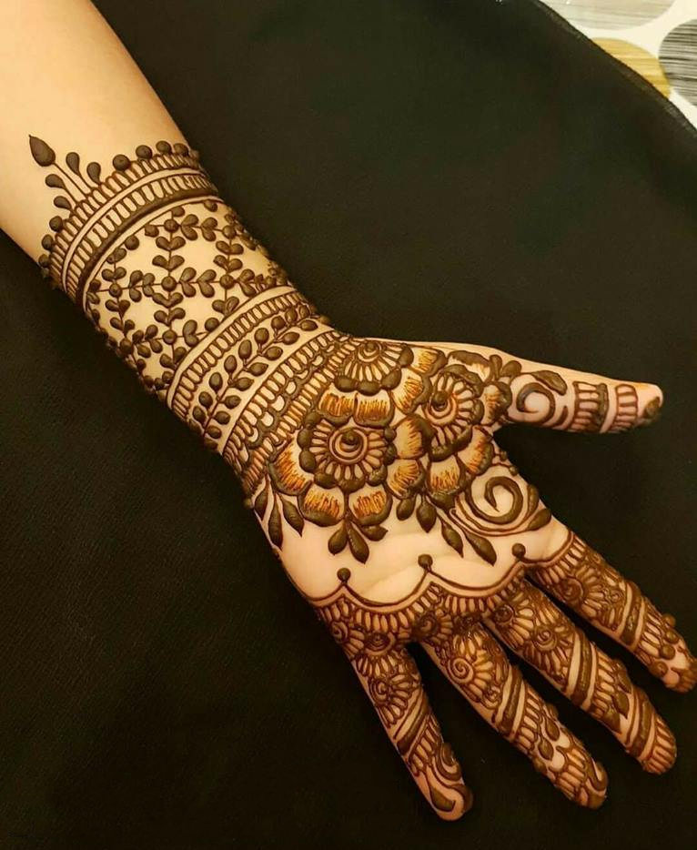 eid mehndi design full hand
