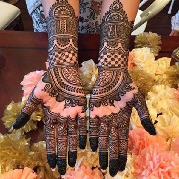 full hands indian henna design