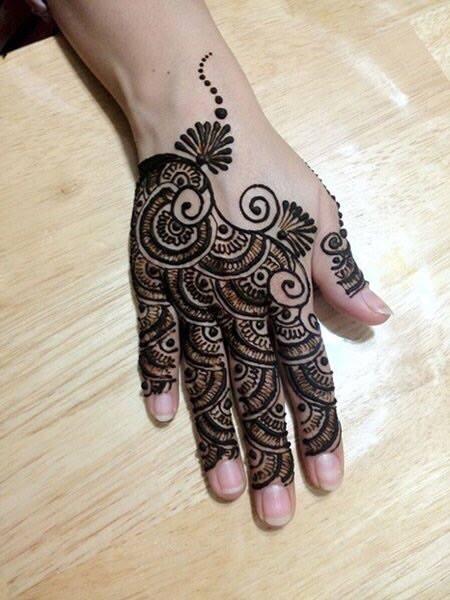 henna art mehndi