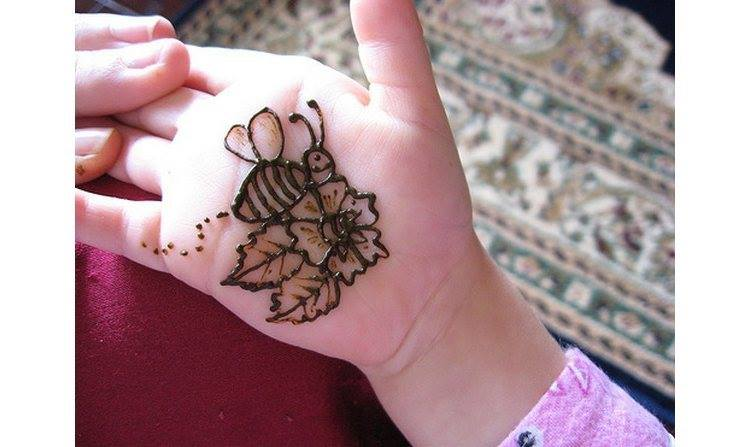 honey bee mehndi