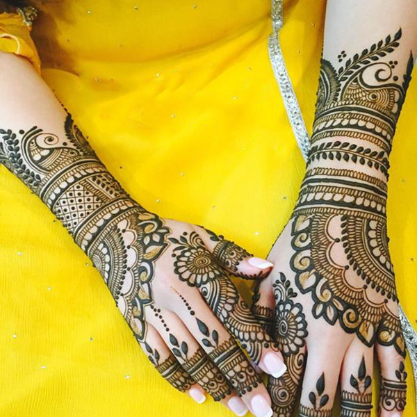indian henna design latest