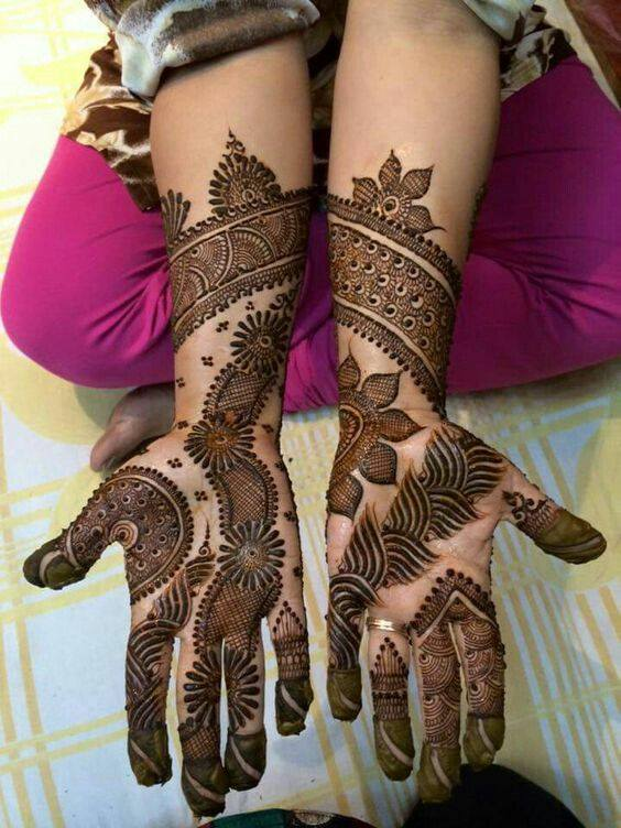 latest henna designs for hands