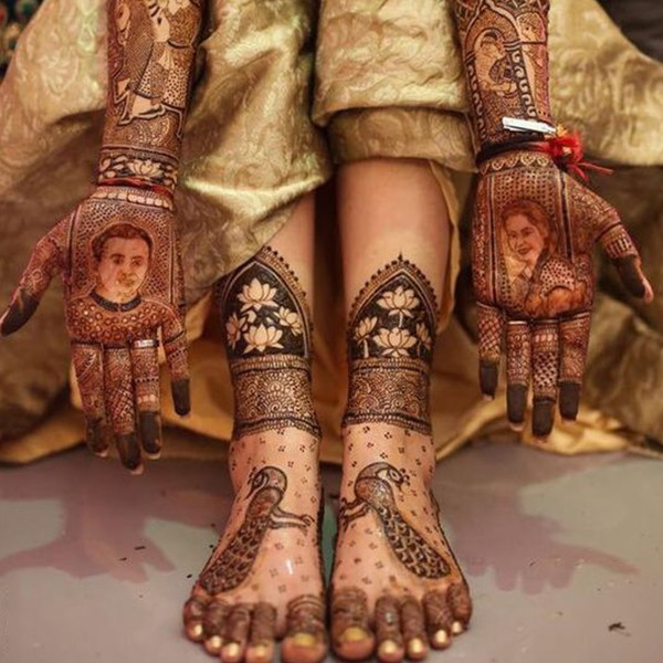 latest legs henna designs