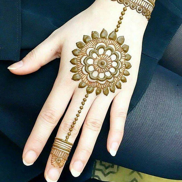 pakistani easy mehndi design