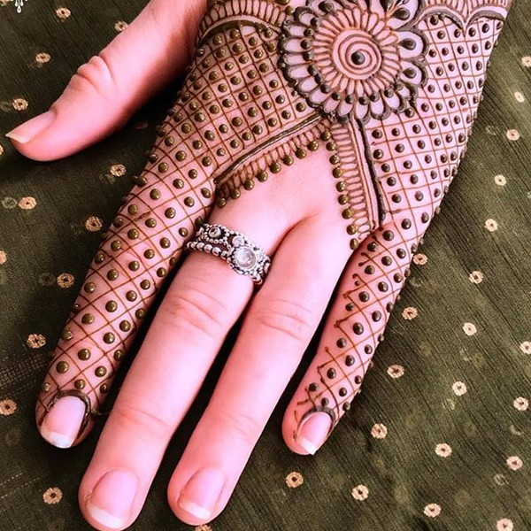 pakistani mehndi design simple
