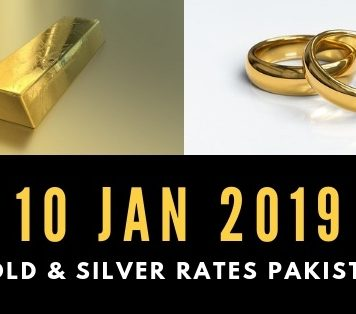 Today's Gold Rates in Pakistan – 10 January 2019 with latest updates