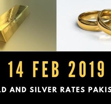 Gold and Silver Prices 14-02-2019