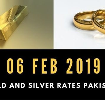 Gold rates in Pakistan 06 Feb 2019