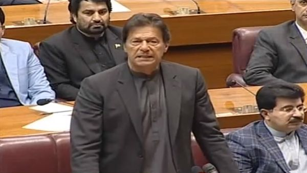 PM Imran Khan Addressing to Parliament