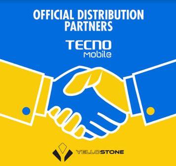 Tecno Mobile Company's Collaboration with Yellostone Distributors