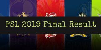 PSL 2019 Final Combat Between Peshawar Zalmi and Quetta Gladiators