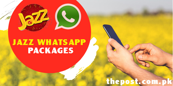 Jazz Prepaid WhatsApp Packages