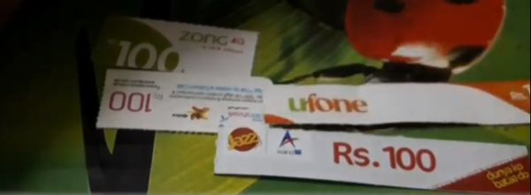 Tax applied on Mobile Top-up cards
