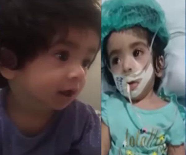 Paralyzed Nishwa breathed her last at Karachi Hospital