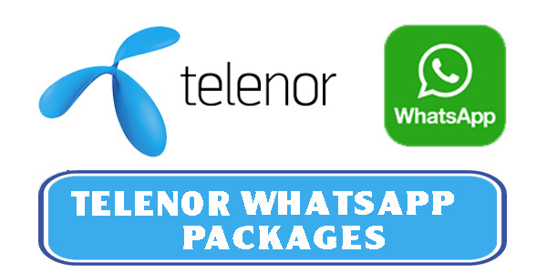 Telenor WhatsApp Packages: Free, Daily, Weekly and Monthly 2019