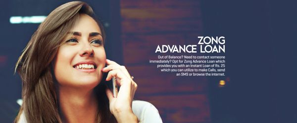 Get Zong Advance Balance