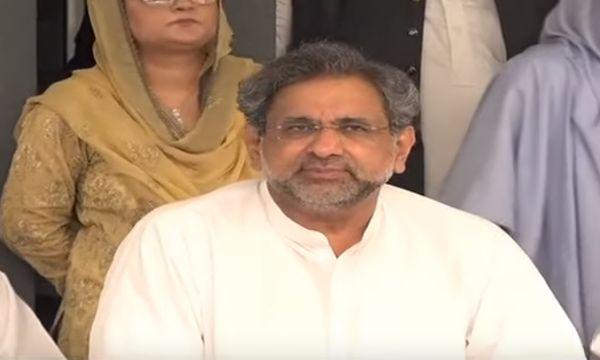 NAB arrested Shahid Khaqan Abbasi