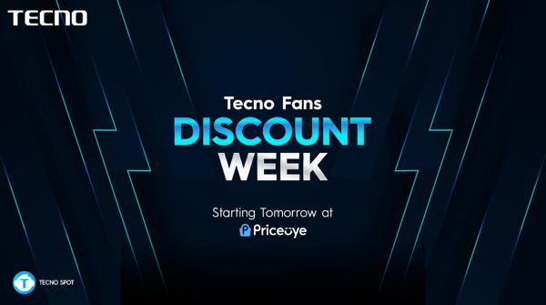 Tecno limited time sales at PriceOye