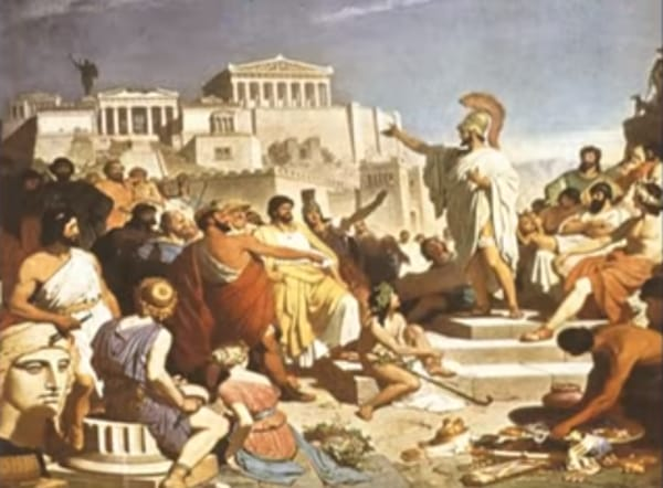 the first democracy of the world