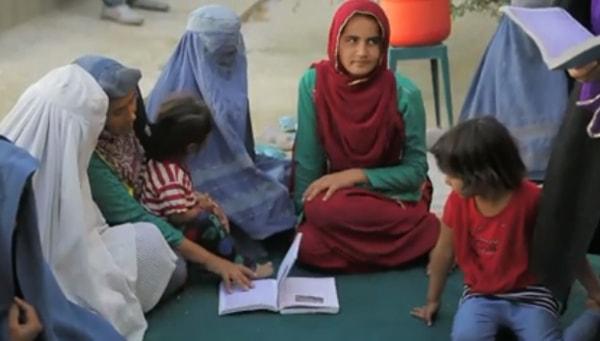 girls education in Afghanistan
