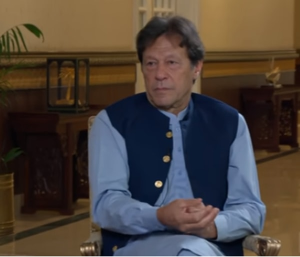 Prime Minister imran khan addressed to a rally in Kashmir
